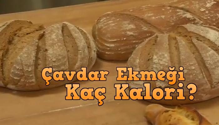 çavdar ekmeği kaç kalori