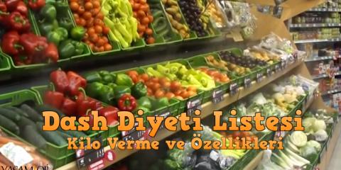 dash diyeti listesi