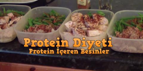 protein içeren diyetler