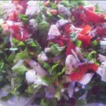 zayıflamak için diyette salata yapılışı diyet salata Kalorisi Az Diyet Salata Tarifleri kalorisi az diyet biberli salata