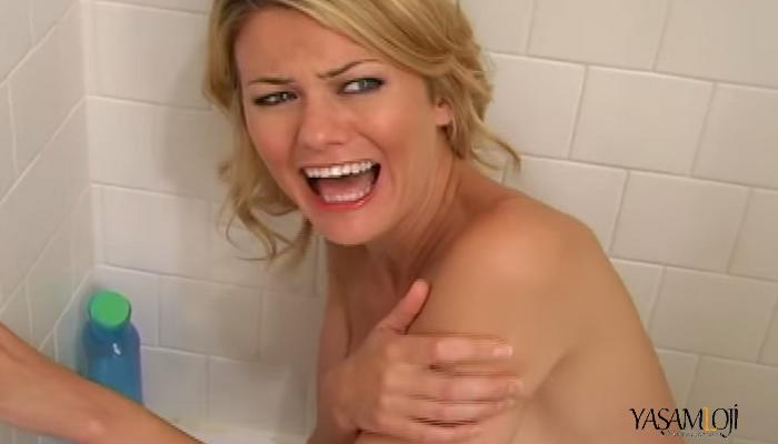banyo yapmak istemiyorum
