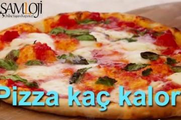 pizza kaç kalori
