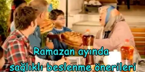 ramazan ayında beslenme