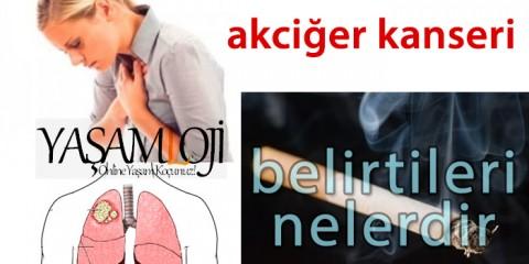 akciğer kanseri belirtileri nelerdir
