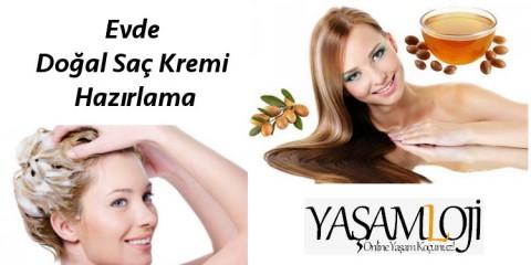 doğal saç kremi