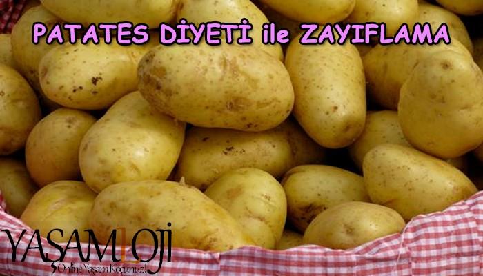 patates diyeti ile zayıflamak