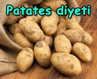 patates diyeti patates diyeti ile zayıflamak, patates diyeti nasıl yapılır, Patates Diyeti ile Zayıflamak patates diyeti