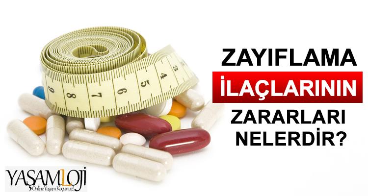 zayıflama ilaçları zararları nelerdir hapları